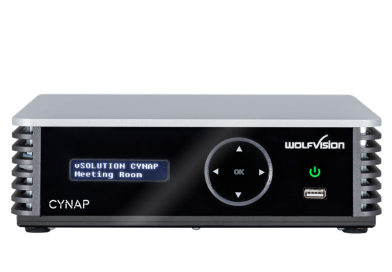 Cynap – Centrepiece of the modern classroom, meeting room & courtroom from Wolfvision