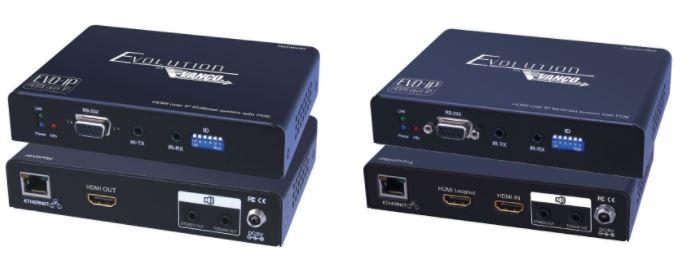 Evolution EVO-IP HDMI OVER IP Solution from VANCO